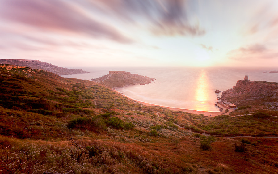 Photograph Gnejna Bay Sunset by Hans Woltering on 500px