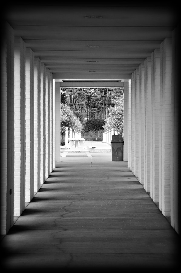 Black & white perspective of Medical Protective campus, Ft. Wayne.