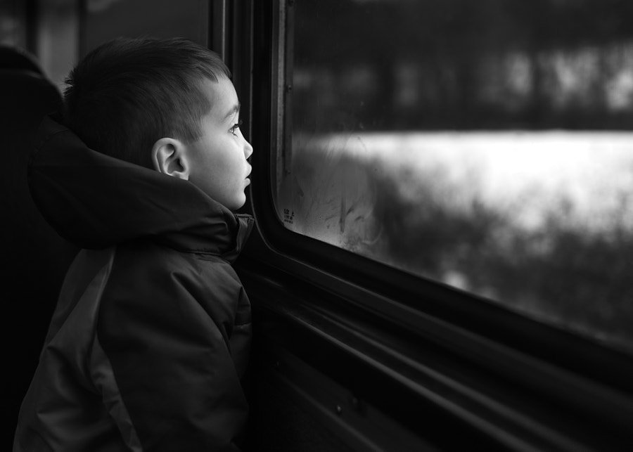 Train Window by Tom F on 500px.com