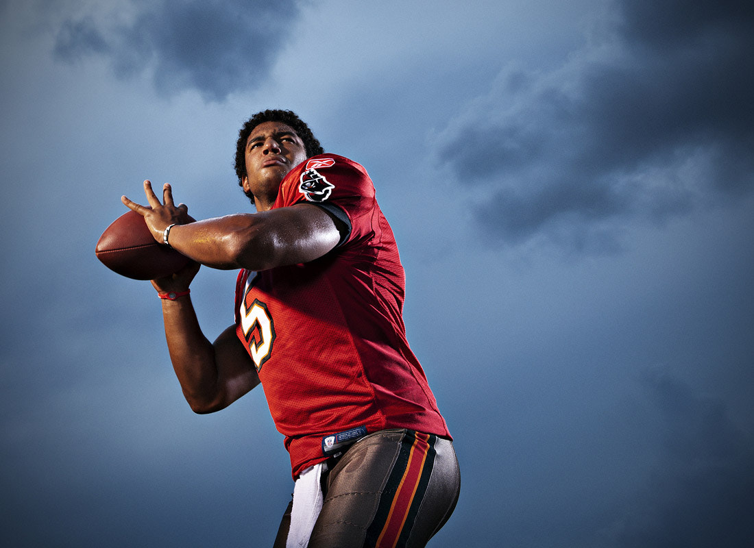 Photograph Buccaneer quarterback Josh Freeman by Bob Croslin on 500px