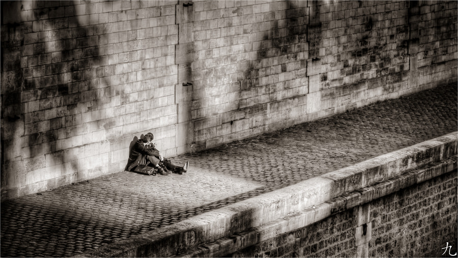 Photograph Sittin' on the Dock of...Paris by Frédéric Baque on 500px