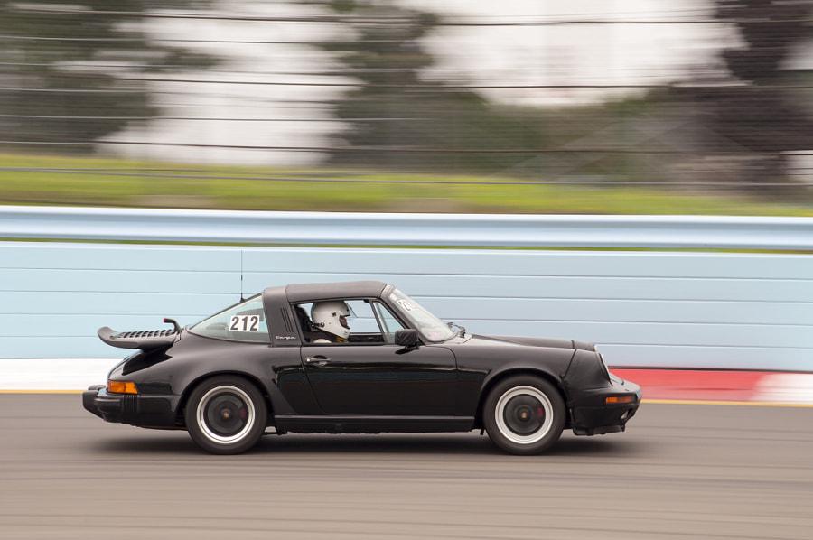 Porsche 911 at Watkins Glen