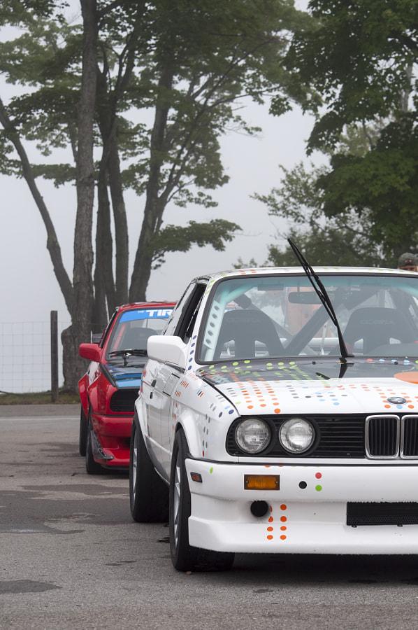 BMWs at Mont Tremblant