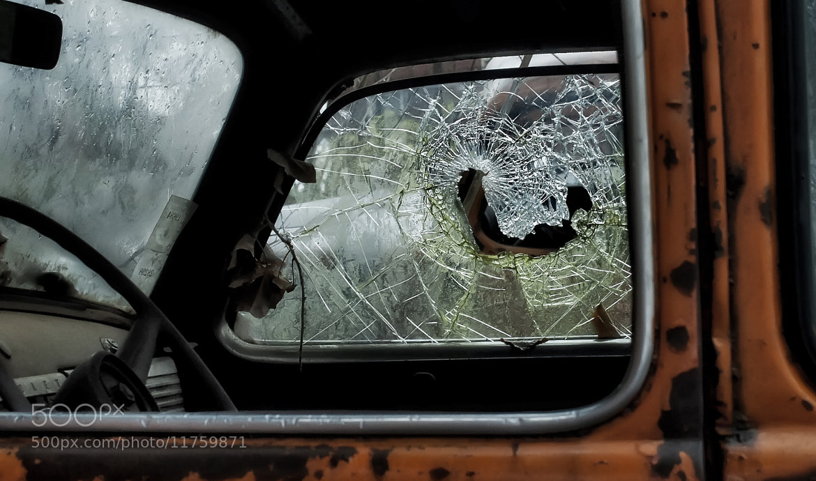 Photograph Shattered glass by Sandra Hughes Benton on 500px