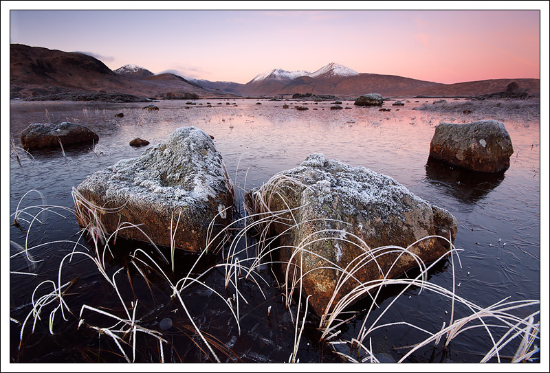 Photograph Black Mount, Morning Colours by Alex Scott on 500px