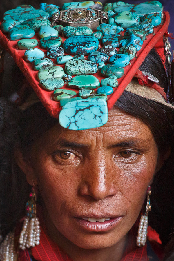 Photograph Turquoise headdress by Andrey Volkov on 500px