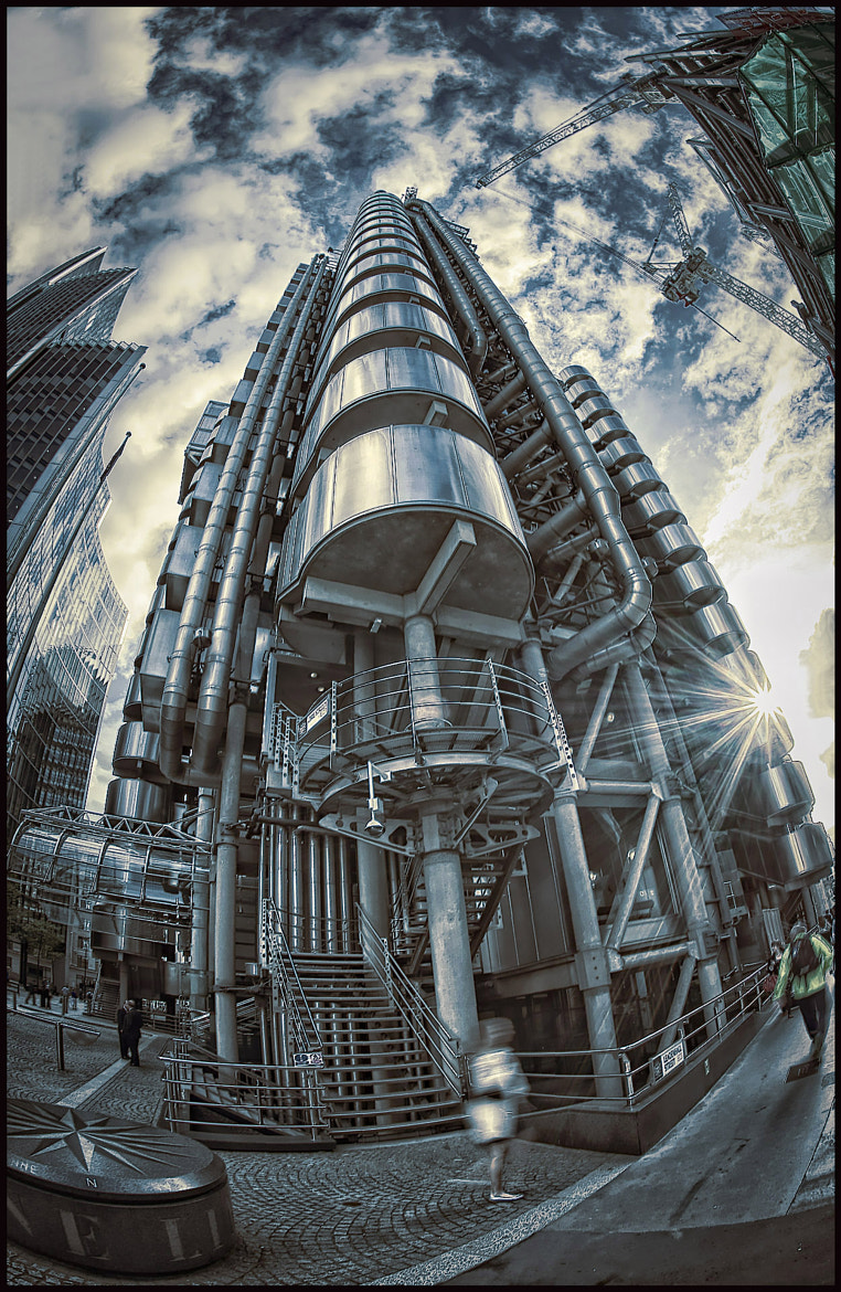 Photograph Lloyd's of London by Calvin  James on 500px