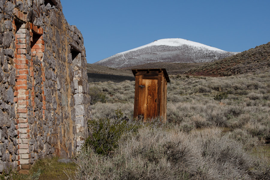 Photograph Outhouse in Historic Bodie by Jeff Sullivan on 500px