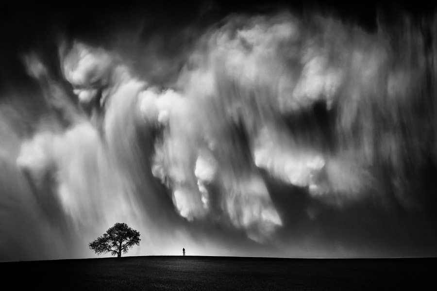Storm Chaser-B&W by Like_He on 500px.com