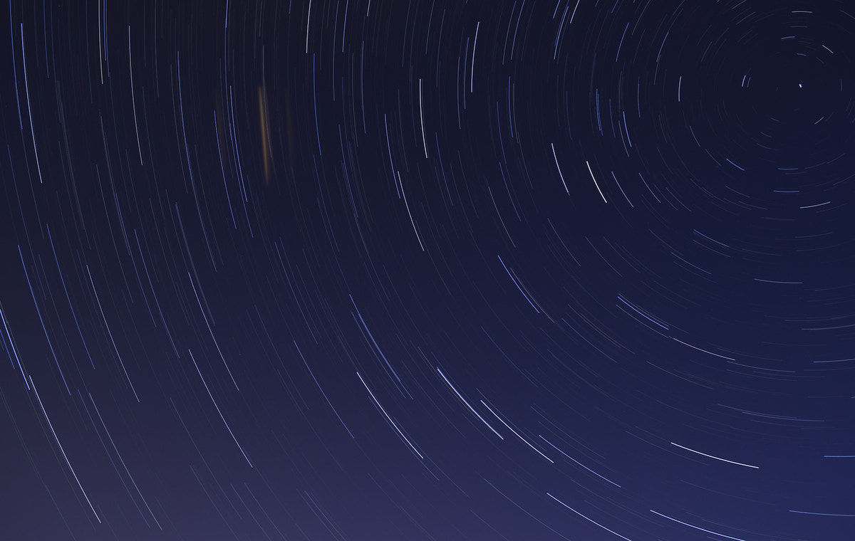 Photograph First Star Trail by Matthew Goodyear on 500px