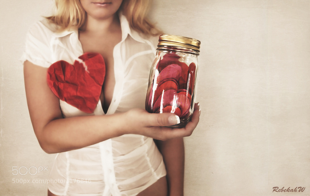 Photograph Jar of Hearts by Rebekah W on 500px