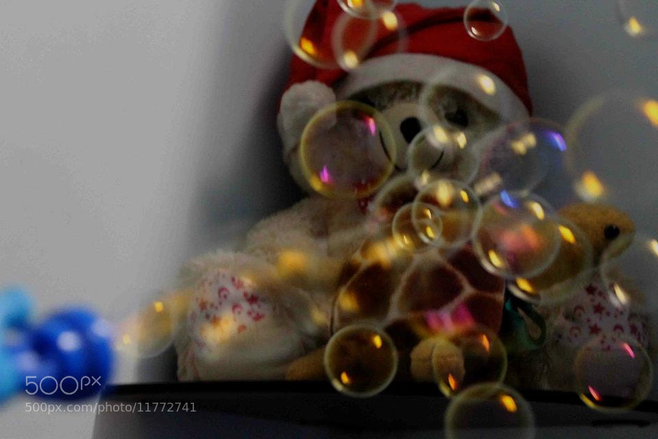 Photograph bubbly teddy ^_^ by Megha Saxena on 500px