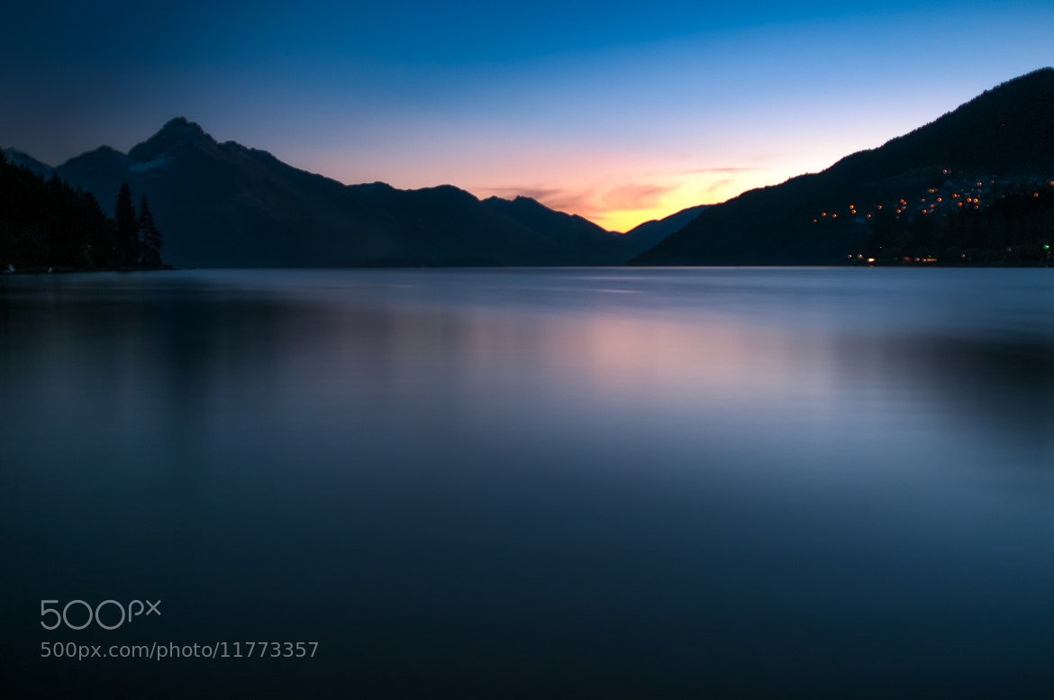 Photograph Wakatipu twilight by Martin Tyler on 500px