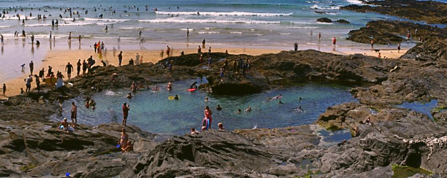 The Rock Pool (panorama)