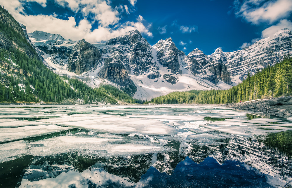 Photograph Moraine Lake - Magic Lantern Style  by Philippe Brantschen on 500px