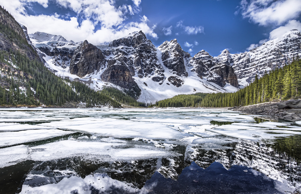 Photograph Moraine Lake - Iced by Philippe Brantschen on 500px