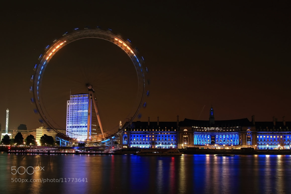 Photograph Eye in the night by where the user has no names on 500px
