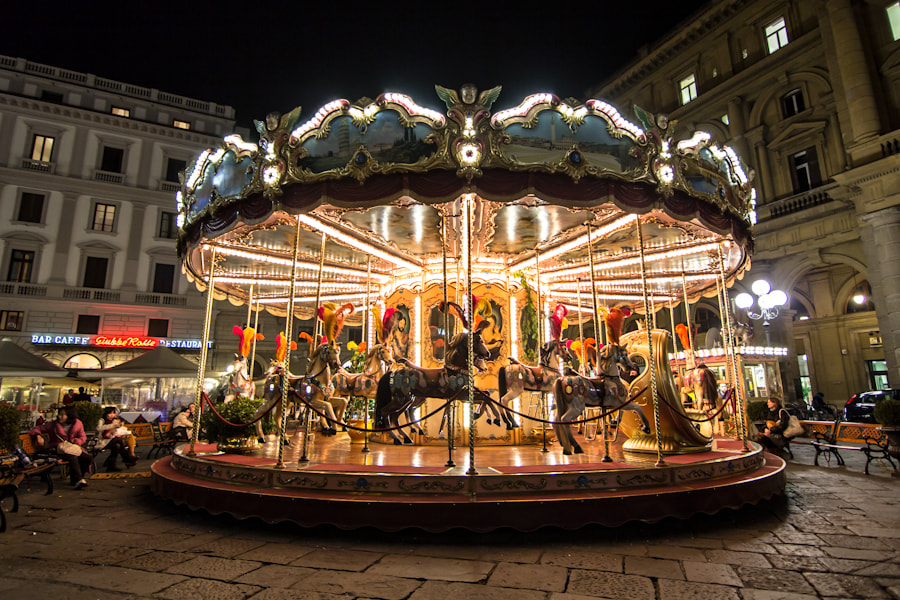 Photograph Carrousel by Augusto Ledesma on 500px