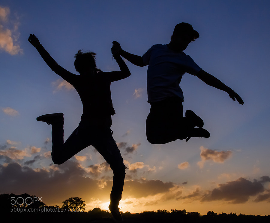 Photograph Jumping for joy by Richard Wilson on 500px
