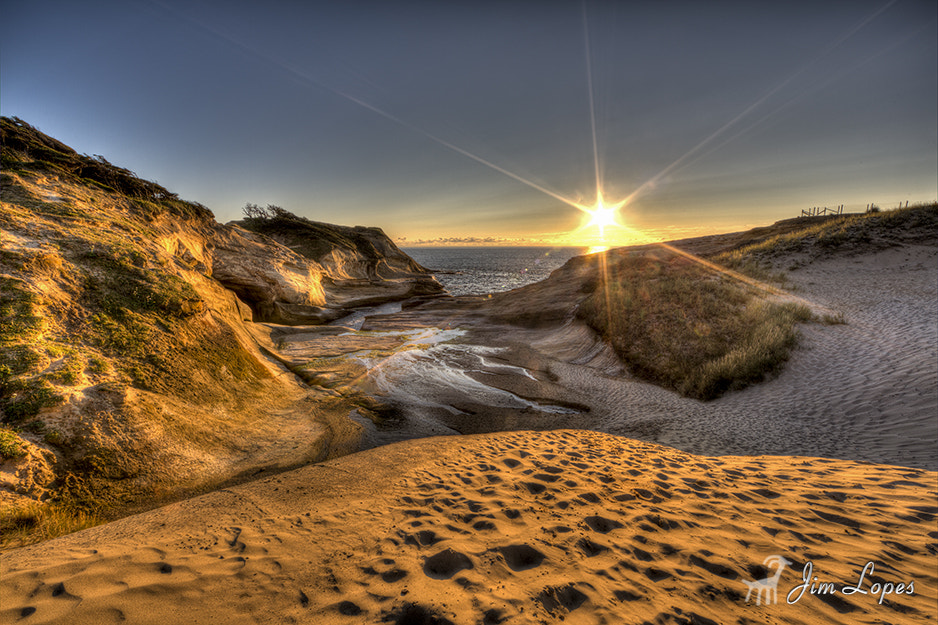 Photograph Cape Kiwanda - Sunset by Jim Lopes on 500px
