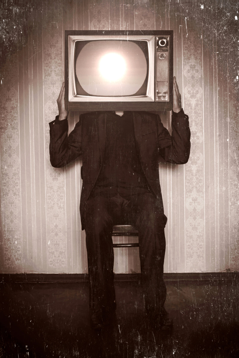 Photograph TV Watching by Alex Ka on 500px