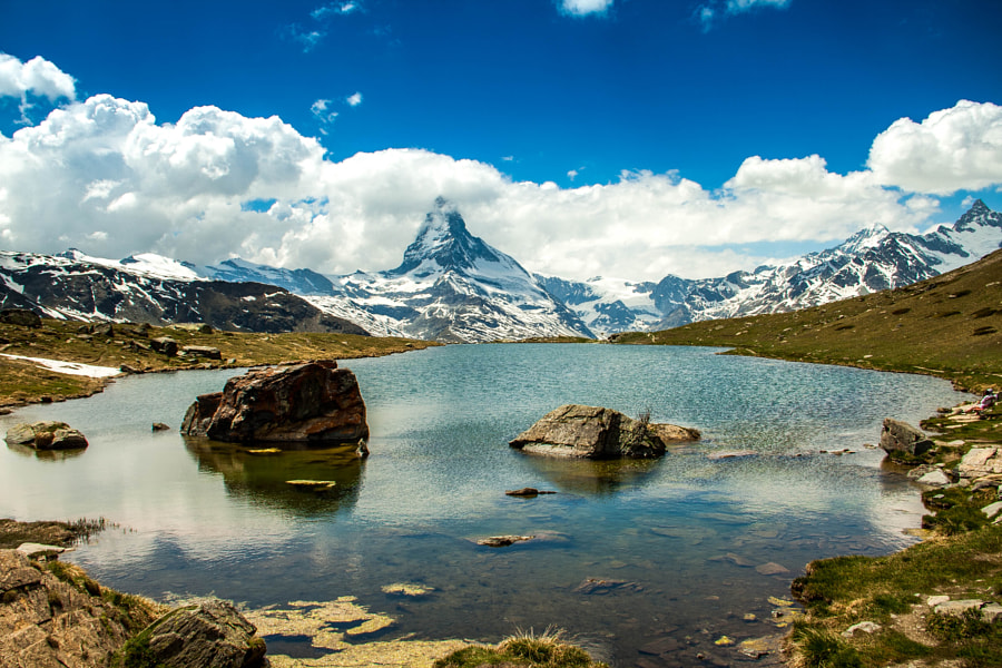 Photograph Matterhorn HDR by Paweł M on 500px
