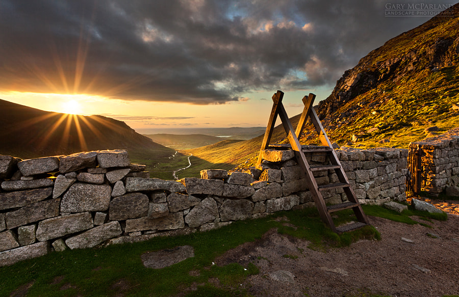 Sunset at The Hares Gap by Gary McParland on 500px.com