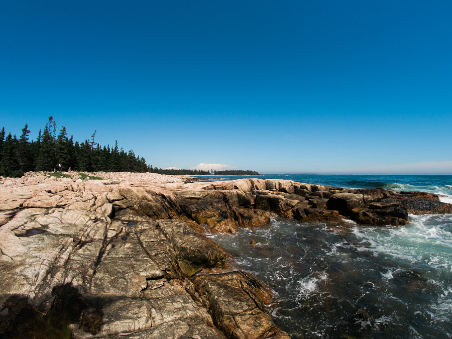 Seawall Acadia National Park