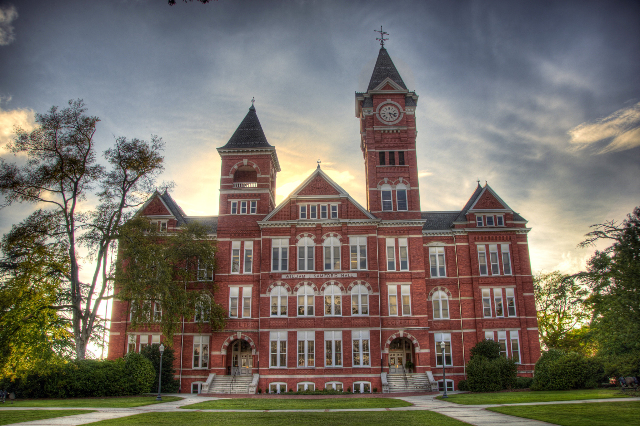 Photograph Samford Hall by Grant Williams on 500px