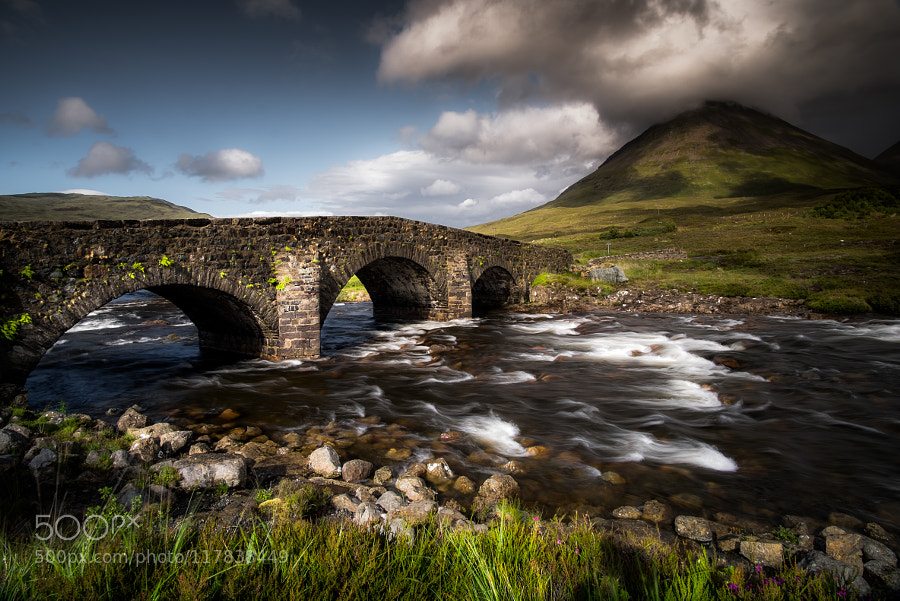 The bridge after the rain by swallero