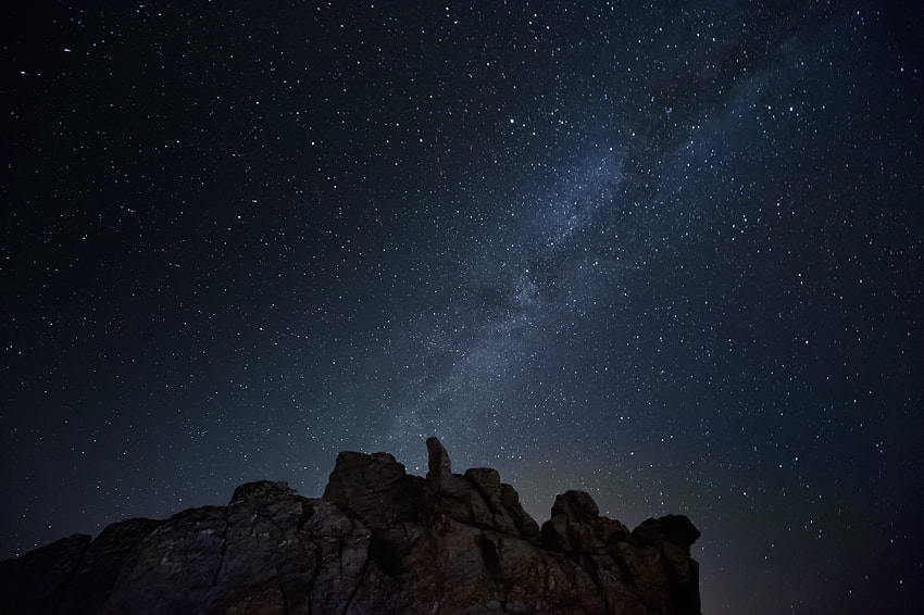 Photograph The Milky Way by Miguel Moreno on 500px