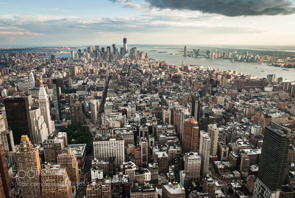 Photograph New York from above by hannes cmarits on 500px