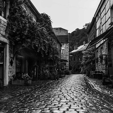 A tiny town