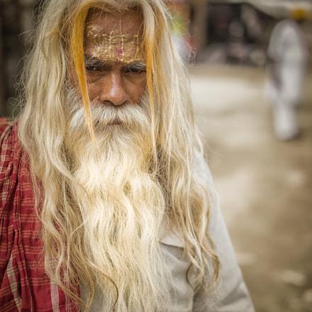 Baba at Vrindavan holy city