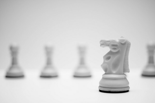 Photograph Knight and Pawns by Alviseni López on 500px
