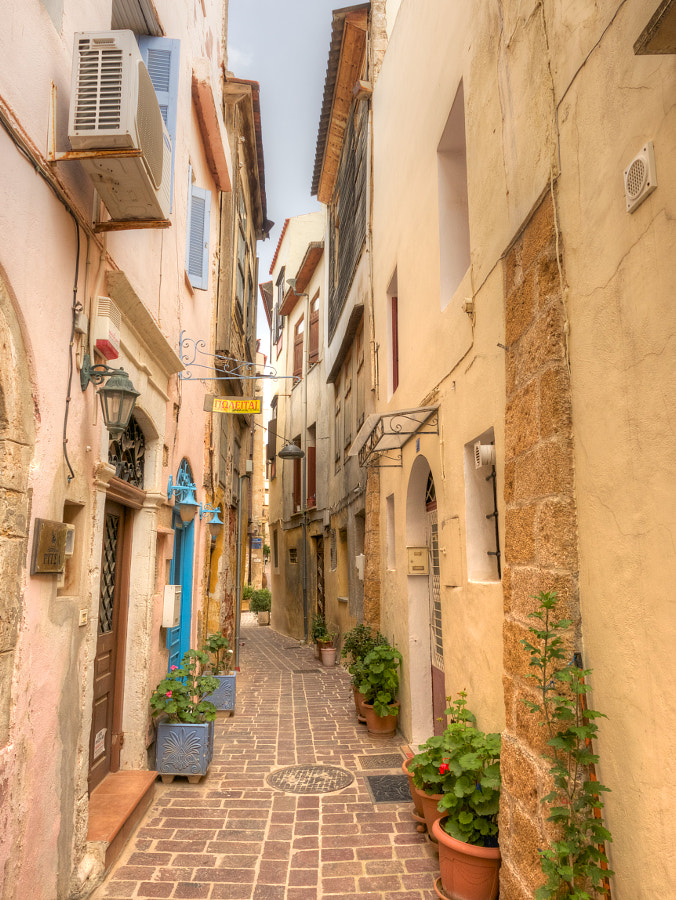 Photograph The Back Streets of Crete by Des Paroz on 500px