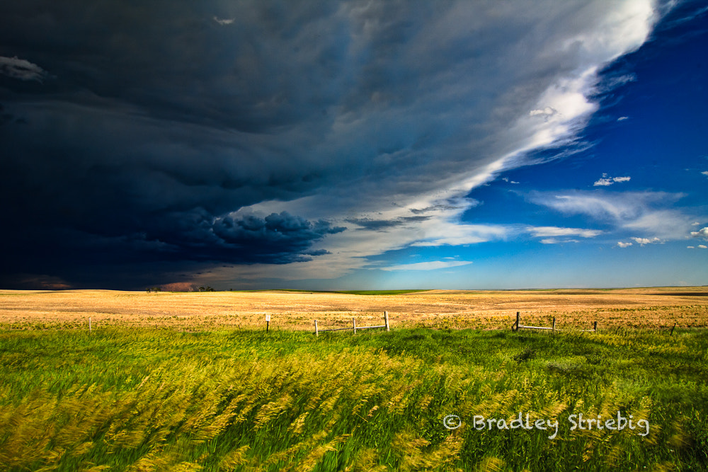 Photograph Storm clouds at the gate by Brad Striebig on 500px