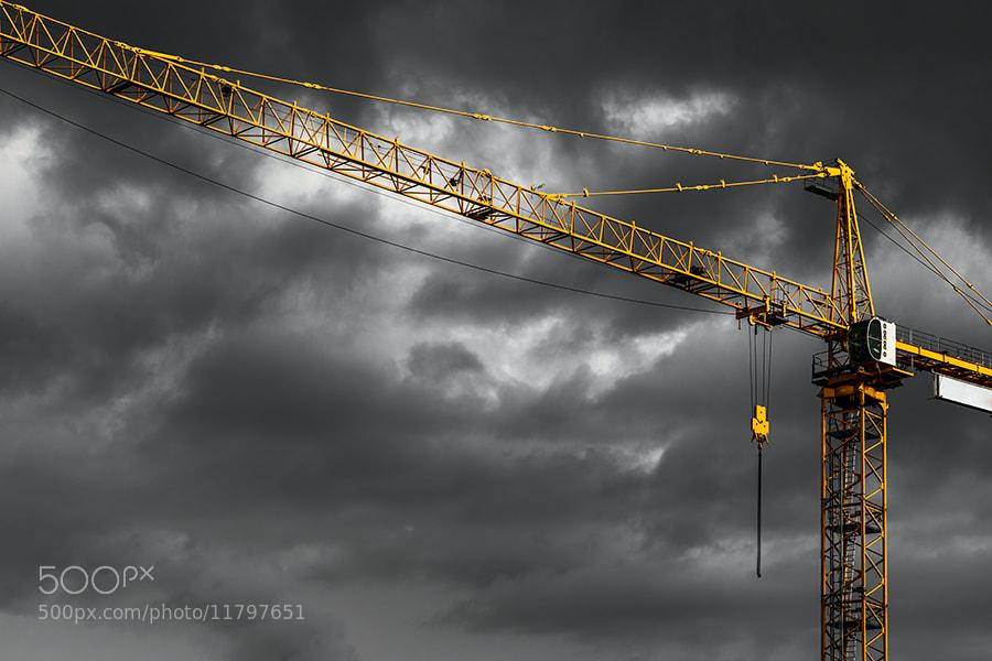 Photograph Crane by Magnus Larsson on 500px