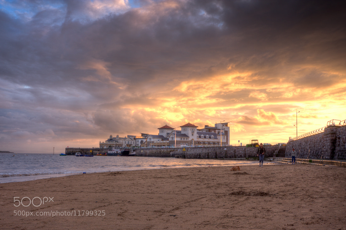 Photograph Western Super Mare Sunset by Karl Batchelor on 500px
