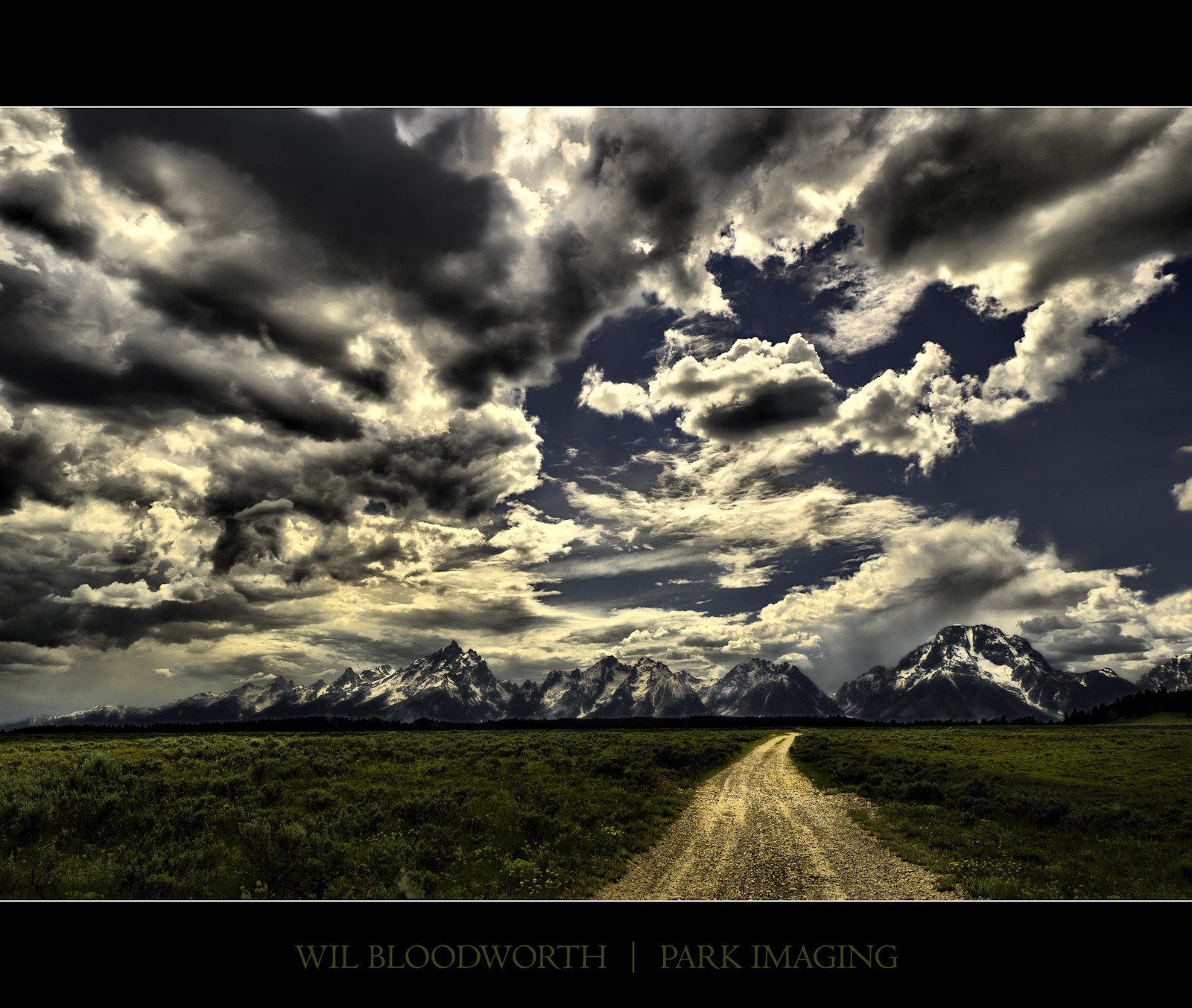 Photograph Teton Drama - Summer 2011 by Wil Bloodworth on 500px