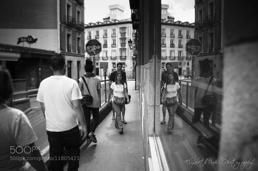 Photograph Reflejos de la calle by Elizabeth Padilla on 500px