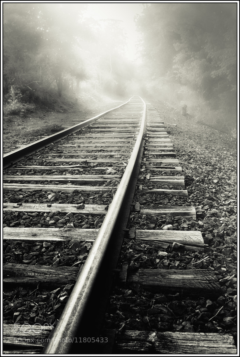 Photograph Down the Tracks by Paul Jolicoeur on 500px