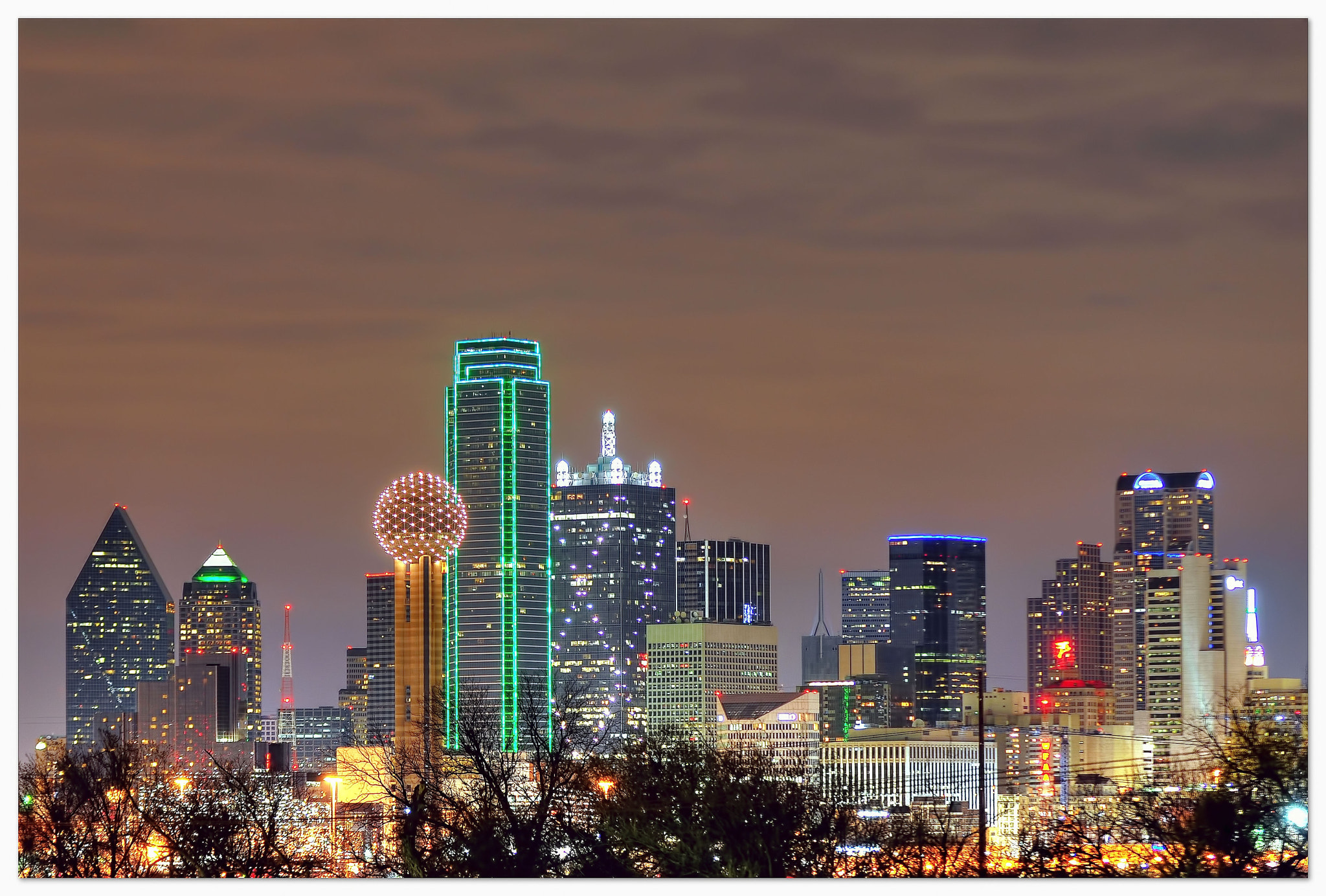 Photograph Dallas Skyline by Dave Hensley on 500px