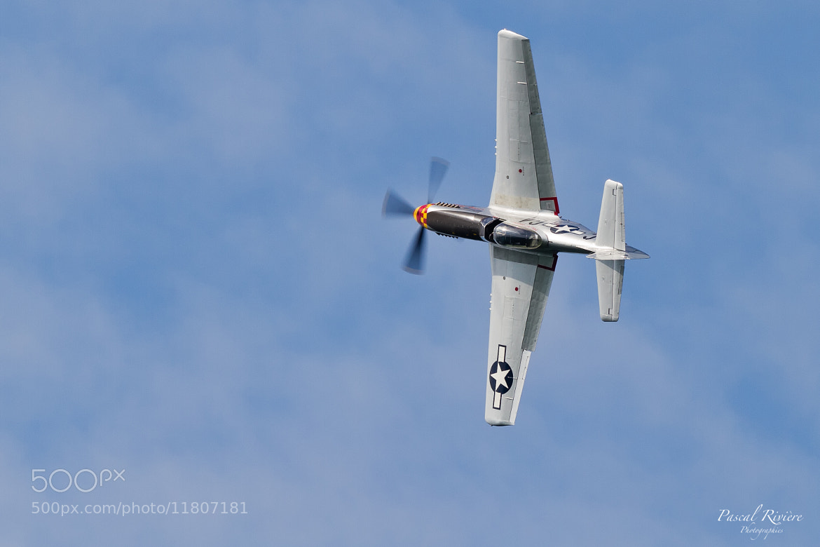Photograph P-51D Mustang by Pascal Riviere on 500px