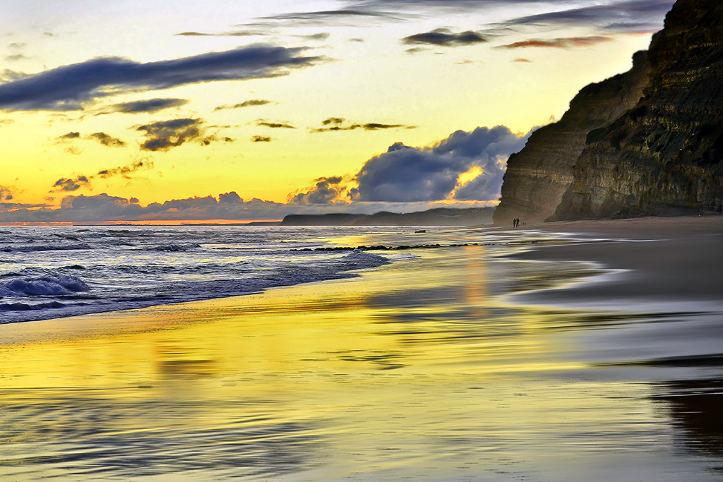 Photograph walking on the beach by António Marciano on 500px