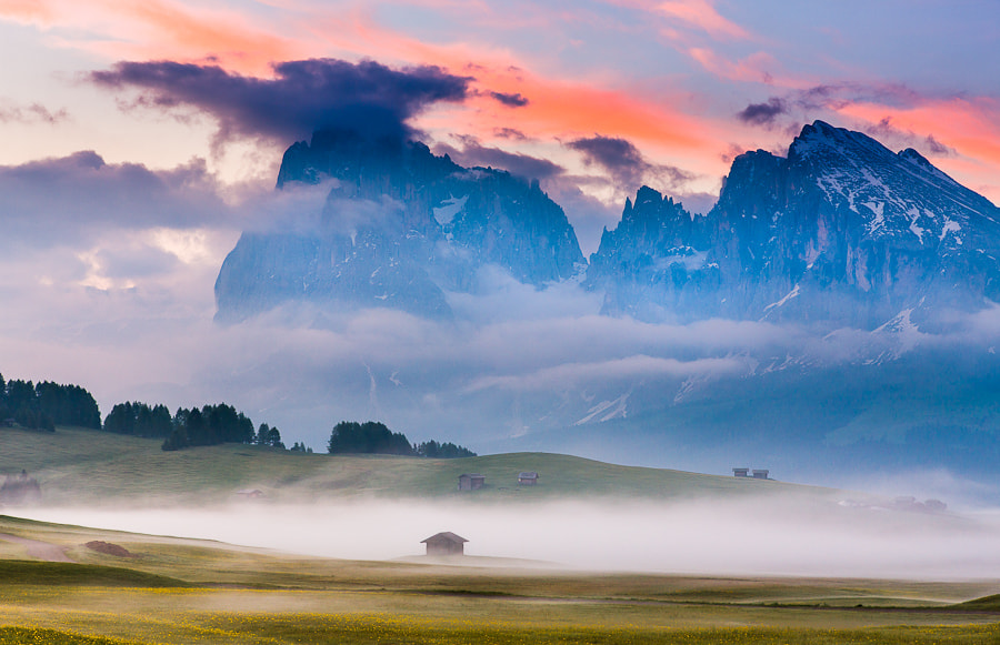 """<a href=""""http://www.hanskrusephotography.com/Workshops/Dolomites-Workshop-Oct-8-12-12/18012376_JfTs4d#!i=2028759932&k=B3ZRrpJ&lb=1&s=A"""">See a larger version here</a>  This photo was taken before a photo workshop that I led in the Dolomites in June 2011."""