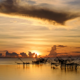 Sunrise Pakpra Phattalung : Thailand by Jakkaphan Hirunviriya (JakkaphanHirunviriya)) on 500px.com