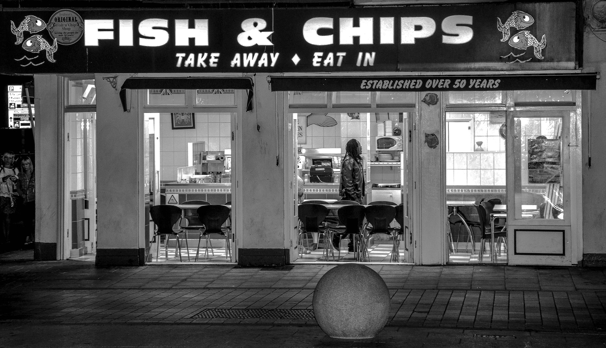 Photograph Fish and Chips _ Brighton by julian john on 500px