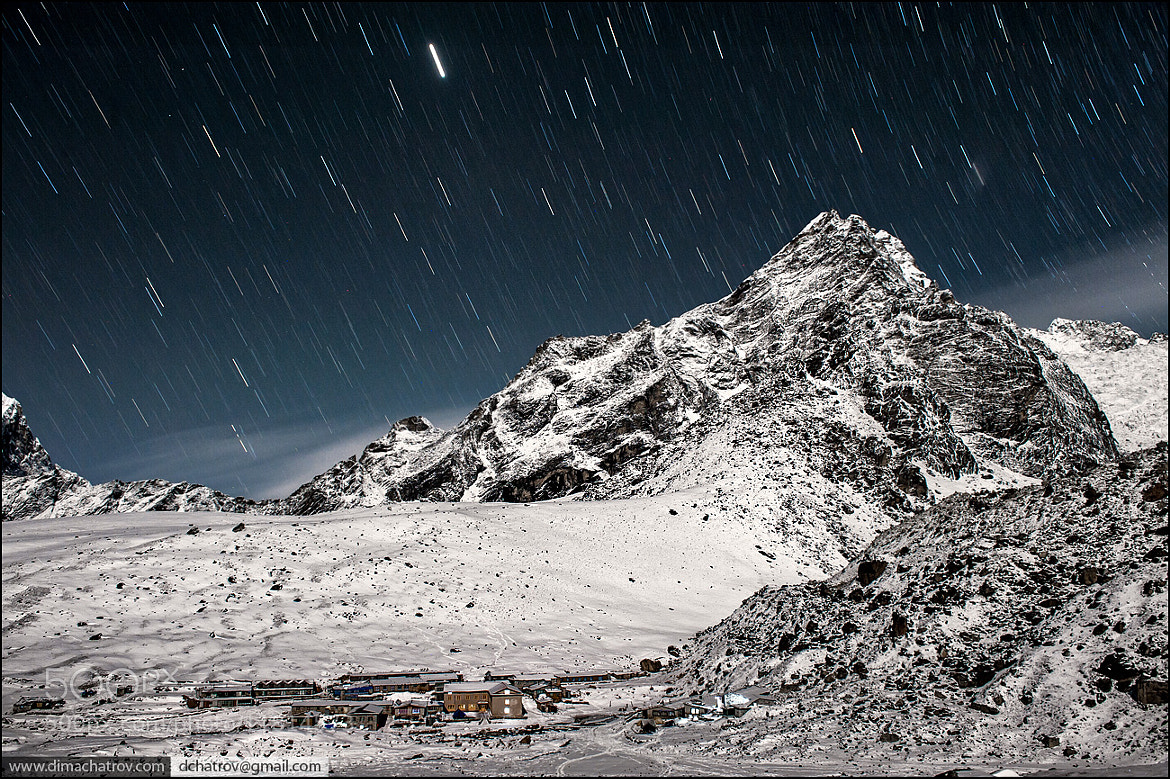 Photograph Himalayan star shower by Dima Chatrov on 500px