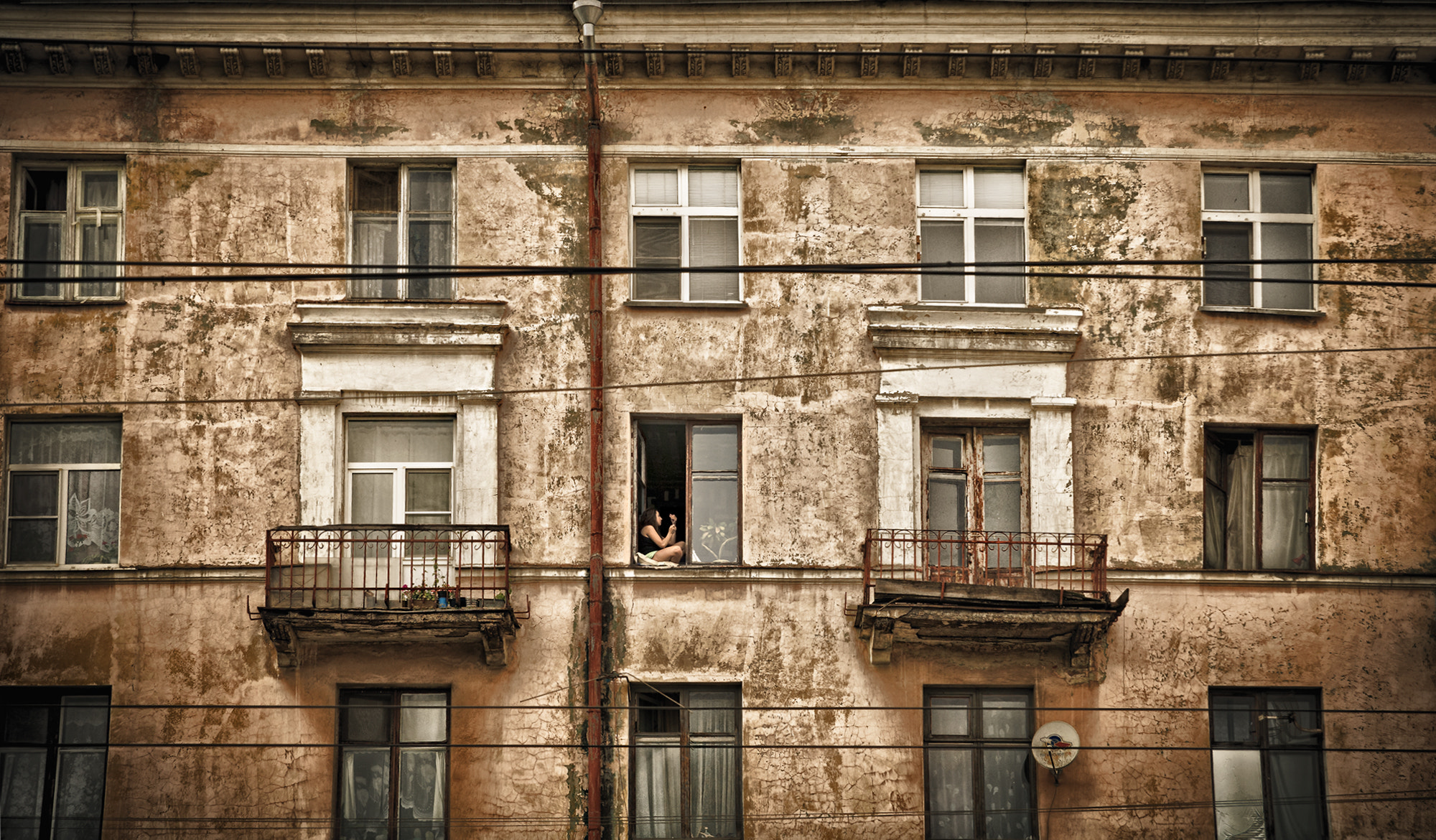Photograph the girl in the window by Boris Puchkov on 500px